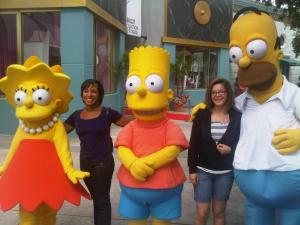 Addy and Homer and me