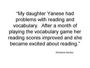 Testimonial Yanese